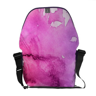 Abstract watercolor hand painted background 5 commuter bag