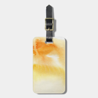 Abstract watercolor hand painted background 5 luggage tag