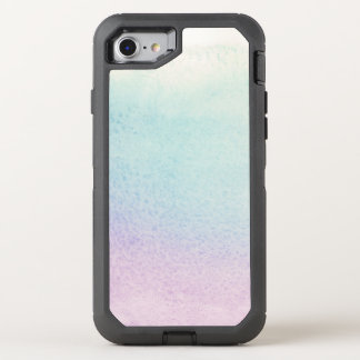 Abstract watercolor hand painted background 5 OtterBox defender iPhone 8/7 case
