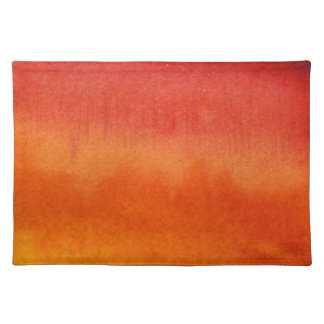Abstract watercolor hand painted background 5 placemat