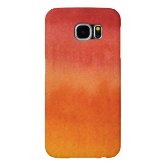 Abstract watercolor hand painted background 5 samsung galaxy s6 cases