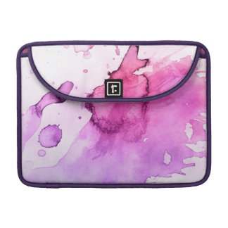 Abstract watercolor hand painted background 5 sleeve for MacBook pro