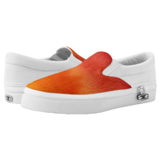 Abstract watercolor hand painted background 5 Slip-On shoes