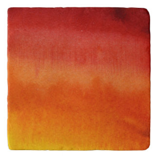 Abstract watercolor hand painted background 5 trivets