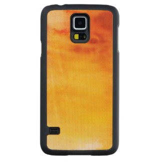 Abstract watercolor hand painted background 6 2 maple galaxy s5 case