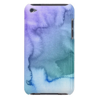 Abstract watercolor hand painted background 6 Case-Mate iPod touch case