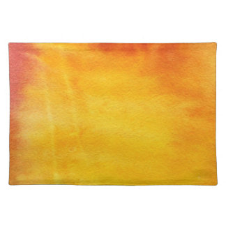 Abstract watercolor hand painted background 6 placemat