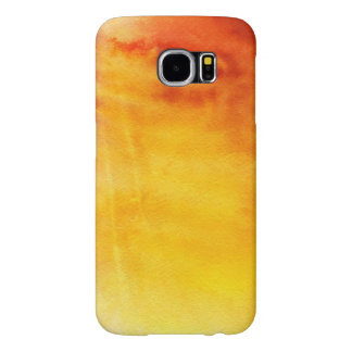 Abstract watercolor hand painted background 6 samsung galaxy s6 cases
