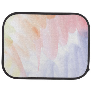 Abstract watercolor hand painted background 7 2 car mat