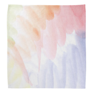 Abstract watercolor hand painted background 7 bandana