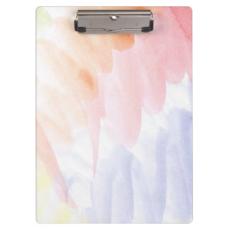 Abstract watercolor hand painted background 7 clipboard