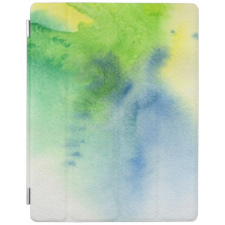 Abstract watercolor hand painted background 8 2 iPad cover