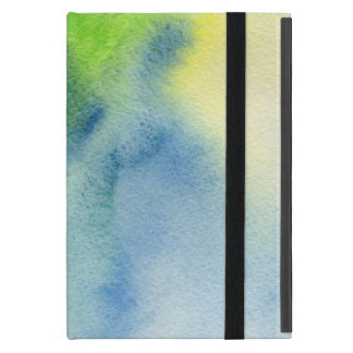 Abstract watercolor hand painted background 8 cover for iPad mini