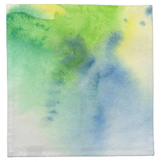Abstract watercolor hand painted background 8 napkin