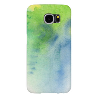 Abstract watercolor hand painted background 8 samsung galaxy s6 cases