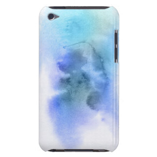Abstract watercolor hand painted background 9 barely there iPod covers