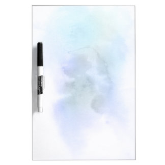 Abstract watercolor hand painted background 9 dry erase board