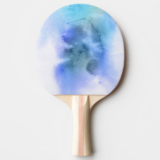 Abstract watercolor hand painted background 9 ping pong paddle