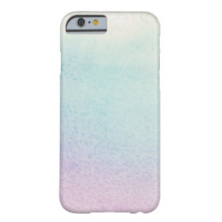 Abstract watercolor hand painted background barely there iPhone 6 case