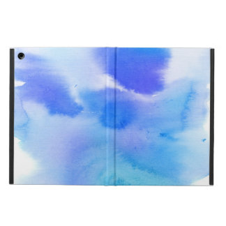 Abstract watercolor hand painted background. case for iPad air