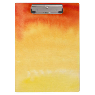Abstract watercolor hand painted background. clipboard