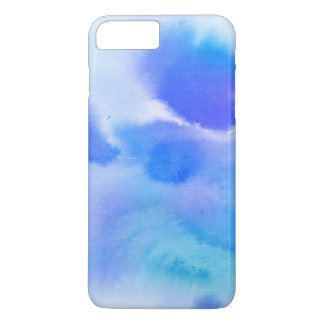 Abstract watercolor hand painted background. iPhone 8 plus/7 plus case