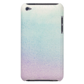 Abstract watercolor hand painted background iPod Case-Mate case