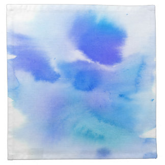 Abstract watercolor hand painted background. napkin