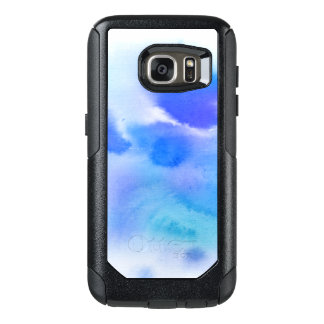Abstract watercolor hand painted background. OtterBox samsung galaxy s7 case