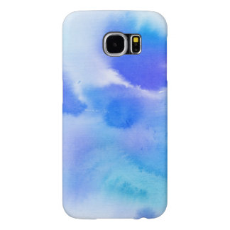 Abstract watercolor hand painted background. samsung galaxy s6 cases