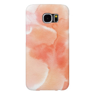 Abstract watercolor hand painted background samsung galaxy s6 cases