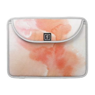 Abstract watercolor hand painted background sleeve for MacBooks