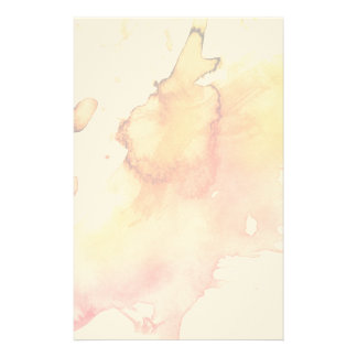 Abstract watercolor hand painted background stationery paper