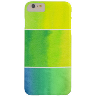 Abstract watercolor hand painted backgrounds set barely there iPhone 6 plus case