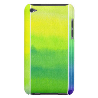 Abstract watercolor hand painted backgrounds set iPod touch Case-Mate case