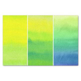 Abstract watercolor hand painted backgrounds set tissue paper