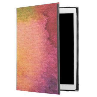 """Abstract watercolor painted background iPad pro 12.9"""" case"""