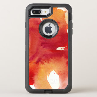 Abstract watercolor paintings OtterBox defender iPhone 8 plus/7 plus case