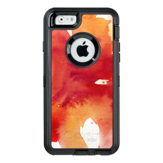 Abstract watercolor paintings OtterBox defender iPhone case