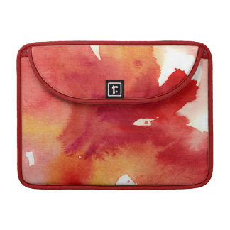 Abstract watercolor paintings sleeve for MacBooks