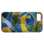 Abstract Watercolor Pen & Ink iPhone 5 Cover