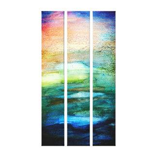 Abstract  Watercolor Texture Wall Art