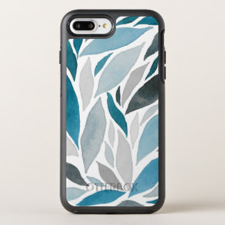 Abstract Watercolor Waves Pattern | Phone Case