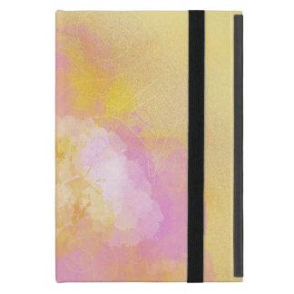 Abstract Watercolors - Orange Background iPad Mini Case