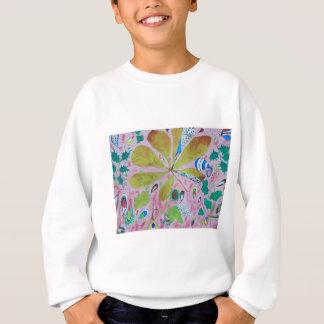 Abstract watercolour artwork sweatshirt
