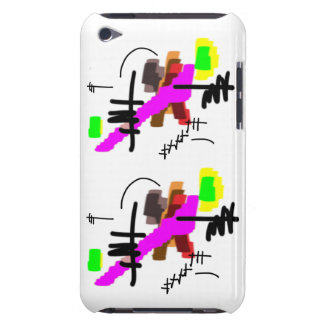 abstract waterfalls iPod touch Case-Mate case