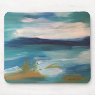 Abstract Waves - Mouse Mouse Mat