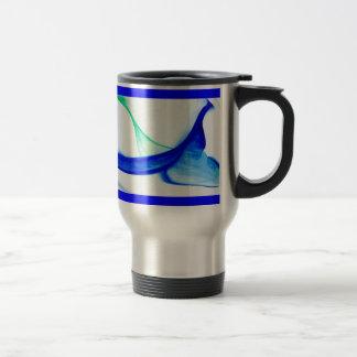 Abstract Waves Coffee Mugs