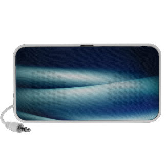 Abstract waves mini speakers