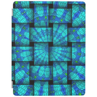 Abstract weaves pattern iPad cover